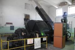Nejstarší dochovaný elektrický těžní stroj na dole Centrum