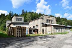 Bývalá vodní elektrárna papíren firmy Spiro ve Vyšším Brodě