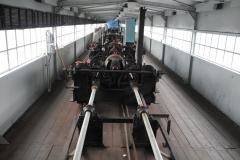 Masarykova zdymadla (Ústí n. L. - Střekov) - pohled do strojovny jezu