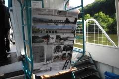 Prezentace Masarykových zdymadel na výletní lodi