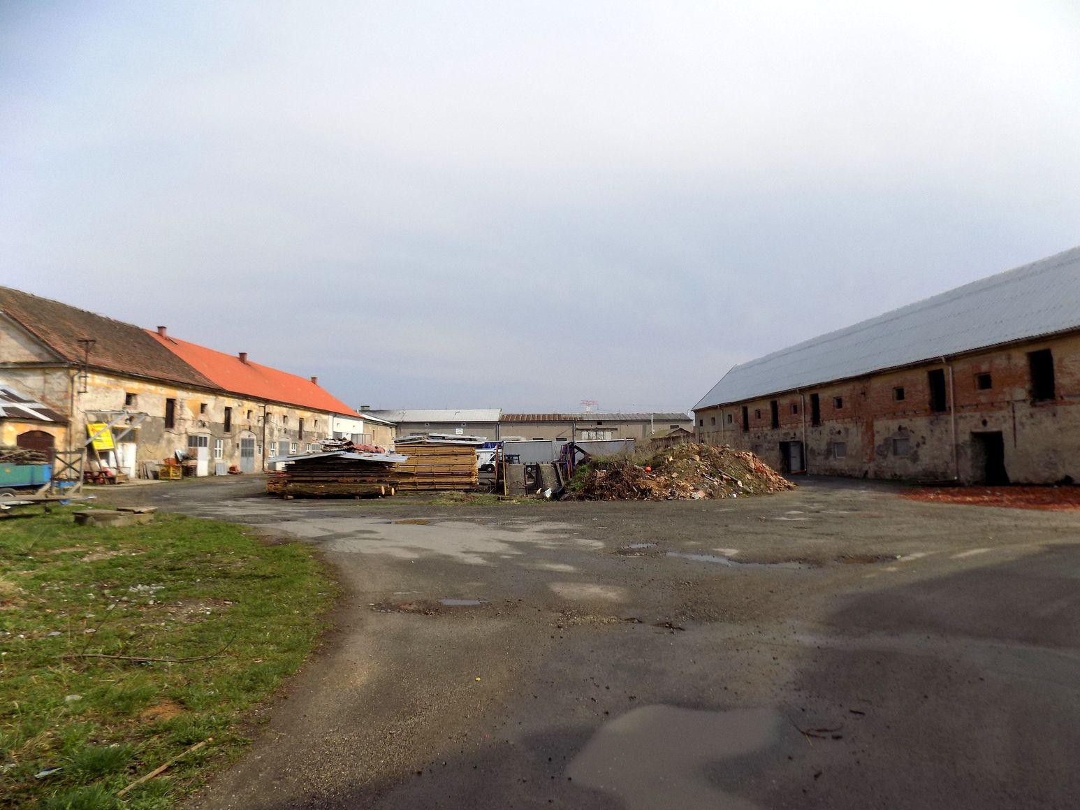 Dokumentace velkostatku v obci Klášter Hradiště nad Jizerou