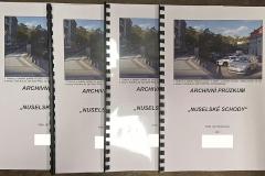 Archivní průzkum Nuselských schodů na Vinohradech