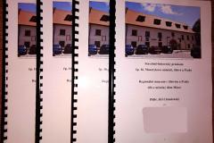 Stavebně-historický průzkum na Masarykově náměstí v Jílovém u Prahy