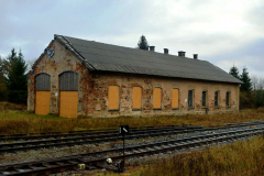 Stavebně-historický průzkum lokomotivní remízy žst. Moldava v Krušných horách
