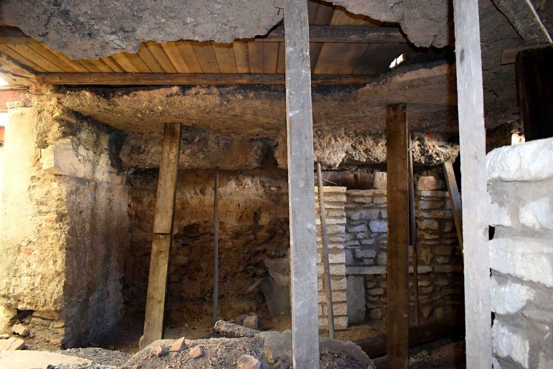 Stavebně-historický průzkum Heřmanova dvora v Šáreckém údolí