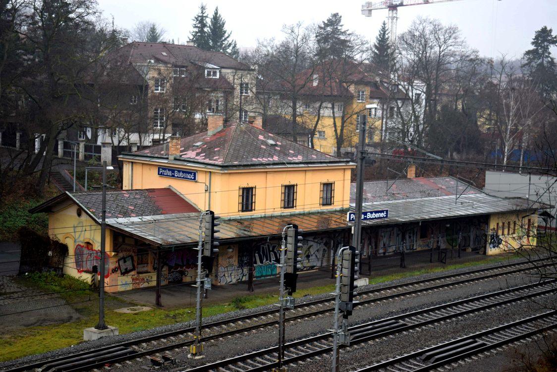 Stavebně-historický průzkum bývalé železniční stanice Praha-Bubeneč